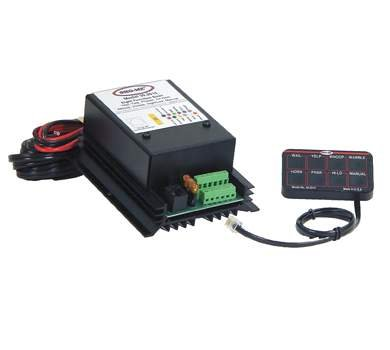 A'BLE Sho-Me 8-Function Undercover Siren with Mini-Controller