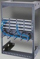 Middle Atlantic Steel Wall Mount (Wall Mount Open Frame Rack Rack Spaces: 14
