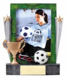 Soccer Photo Frame Award - SOCCER PICTURE FRAME