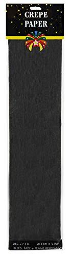 Darice 2507-90F Crepe Paper 7.5' x 20