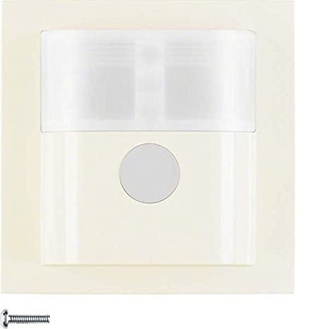 Berker 85341282 Sensor de infrarrojos Pared Blanco detector de movimiento - Sensor de movimiento (Sensor
