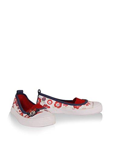 Para Blanco rojo Sneaker Disney 724 Meninas 2303 dXFqxqZz