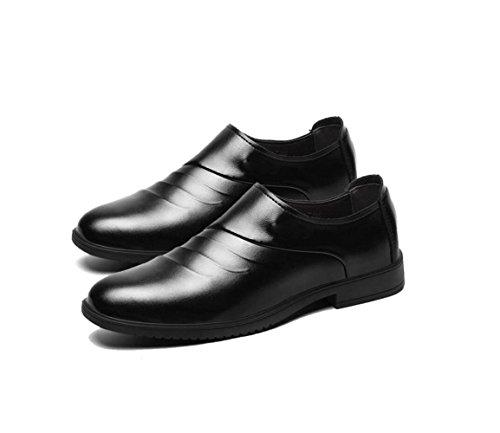 Hommes Souple Occasionnels Couleur Business Black zmlsc Ruban Hiver Eté Automne Sports Pointu Chaussures Rond Toile Printemps wTqRwdnXH