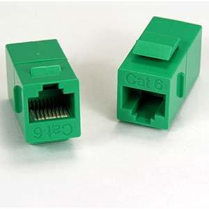 Lcd Latch Kit (InstallerParts Cat.6 Inline Coupler w/Keystone Latch Green)