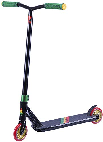 Cheap Fuzion Z250 Pro Scooters – Trick Scooter – Intermediate and Beginner Stunt Scooters for Kids 8 Years and Up, Teens and Adults – Durable Freestyle Kick Scooter for Boys and Girls (2019 Rasta)