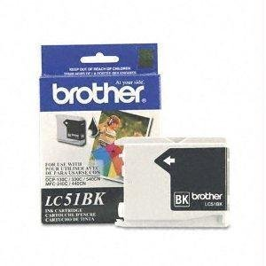 Brother Lc51bk Inkjet - Brother Lc51bk - Black - Original - Ink Cartridge - For Dcp 350, Fax 1360, 2580, Intellifax 1360, 1860, 1960, 2580, Mfc 230, 465, 685, 845, 885