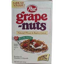 Post Grape-Nuts Cereal, 64-Ounce Box by Post
