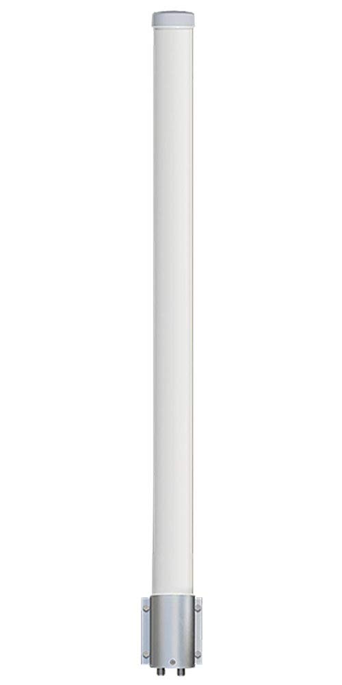 Altelix 2.4 GHz 15 dBi WiFi 2 Port MIMO Omni Antenna for Ubiquiti RocketM2, MikroTik BaseBox2 & Cambium ePMP by Altelix