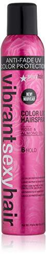 SEXYHAIR Vibrant Color Lock UV Color Protection Hairspray, 8 oz