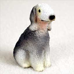 Bedlington Terrier Figurine (Bedlington Terrier Miniature Dog Figurine)