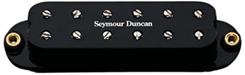 Cover Bridge Strat (Seymour Duncan Little '59 for Strat SL59-1 Bridge Pickup - Black)