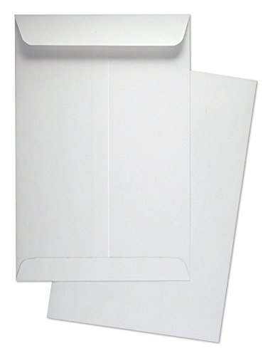 6'' x 9'' Premium White Wove Catalog/Open End Envelopes, 500 Count- Item# SY690 by CASHIER DEPOT YOUR ONE STOP SHOP FOR ALL CASHIER'S NEEDS
