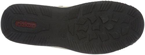 Rieker L0552 Women Low-Top Damen Sneakers Beige (marble/elefant/champignon / 60)