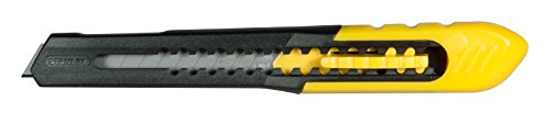 Stanley Retractable Utility Knife - STANLEY TOOLS 10-150 Quick Point Utility Knife 9mm