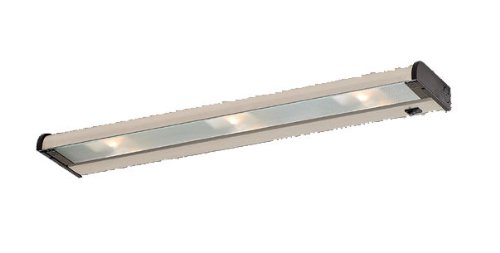 24' Bi Pin Base (New Counter Attack Two Light Halogen Under Cabinet Light Length / Finish: 24
