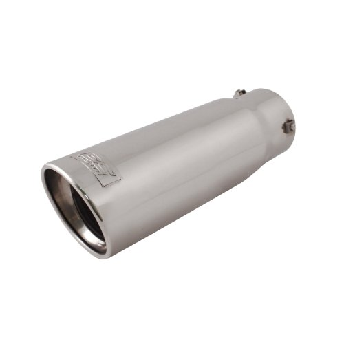 - DC Sport EX-1015 Stainless Steel Resonated Slant Cut Bolt-on Exhaust Tip