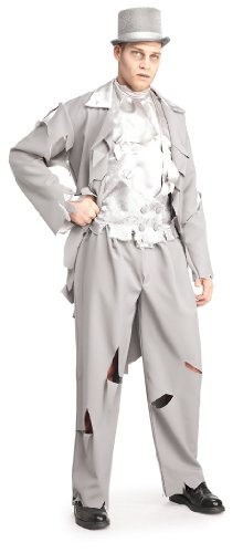 Dead Bride Costume Amazon (Rubie's Costume Dead Groom Costume, Grey, X-Large)