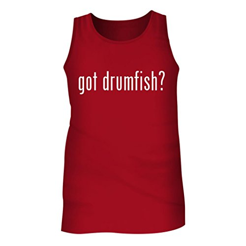 Tracy Gifts Got drumfish? - Men's Adult Tank Top, Red, Large
