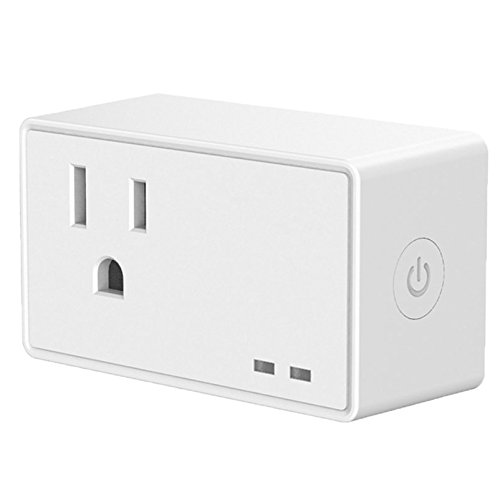 AVACOM WiFi Smart Plug, Compatible with Amazon Alexa Echo/Dot   Google Home   Works with Nest and IFTTT, Remote Voice and App Control from Anywhere, Wifi Remote Outlet, No Hub Required by Avacom