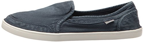 Sanuk Women's Pair O Dice Flat, Navy, 8 M US by Sanuk (Image #5)