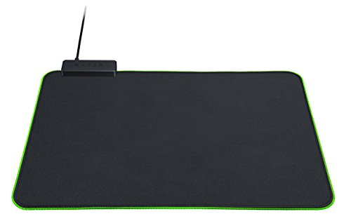 Razer Goliathus Chroma Gaming Mousepad - [Matte Black]: Customizable Chroma RGB Lighting - Soft, Cloth Material - Balanced Control & Speed - Non-Slip Rubber Base