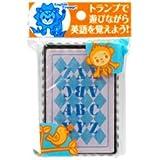 遊んで覚える英語トランプ プラスティックカード