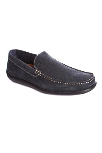 FRAU Men's Loafer Flats Blue blue Blue