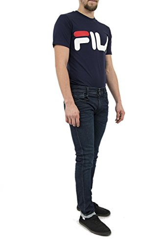 Anbass Hombre REPLAY para Azul Pantalones 6Cwqg