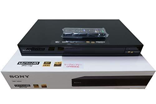 SONY リージョンフリー 4K ブルーレイ/DVDプレーヤー(PAL/NTSC対応 CPRM再生可能) UBP-X800 ソニー