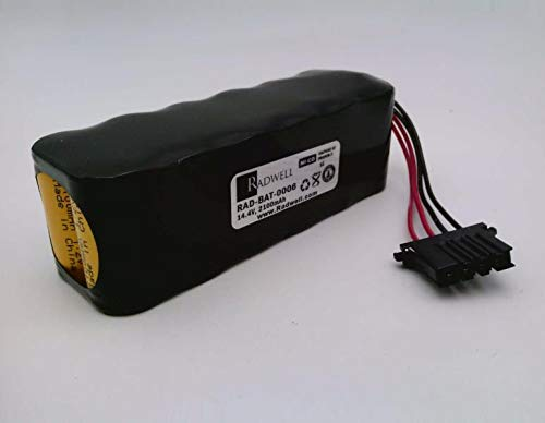 - RADWELL VERIFIED SUBSTITUTE E5503-867-001-SUB Replacement of OKUMA E5503-867-001, Battery - NICD, 14.4V, 2100MAH, 12 Cells, W/Wire Leads & Connector