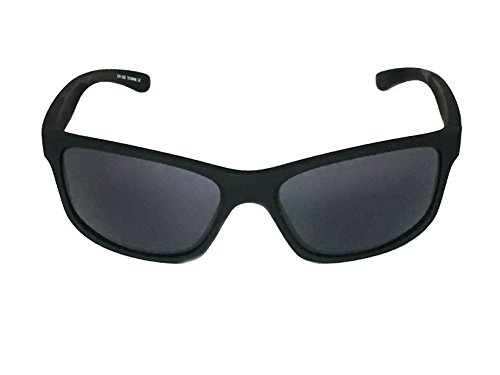 WebDeals - Sport Sunglasses Black Wrap Around Rectangle Frame Great for Outdoors (Black Matte, - Adjusting Nose Glasses Pieces