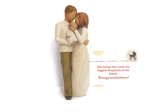 come Baby Gift for New Parents Our Gift Parents and Child Family Figurines (Family Figurine)