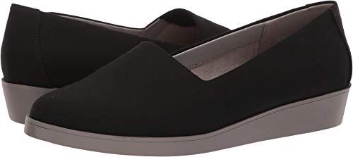 Aerosoles A2 Women's Leverage Shoe, Black Fabric, 7.5 M US