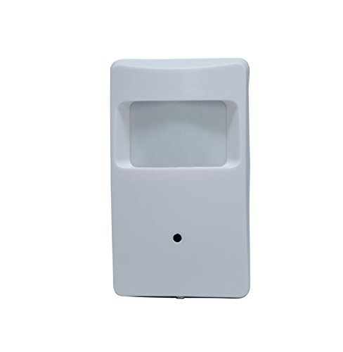 Kenuco 1080P 4 in 1 HD TVI/CVI / AHD/Analog CVBS Covert Motion Detector Camera : White, Fixed 3.7mm Lens