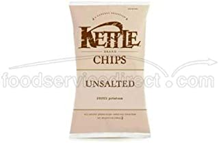 product image for Kettle Unsalted Potato Chips - 5 oz. bag, 15 per case