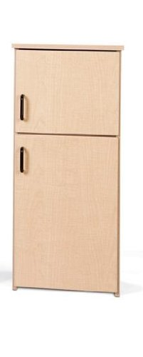 Young Time 7084YT441 Play Kitchen Fridge (Play Wooden Refrigerator)