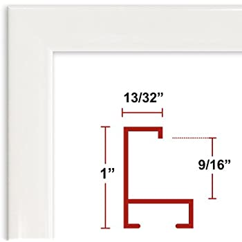 36 x 48 white poster frame profile 93 custom size picture frame