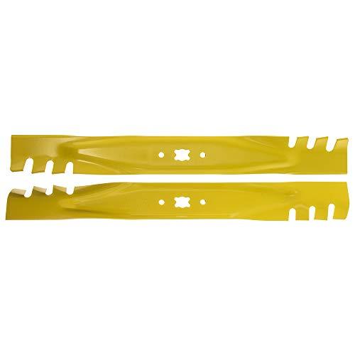 MTD 942-0741-X Pack of 2 Mulching Blades - 21 Inch