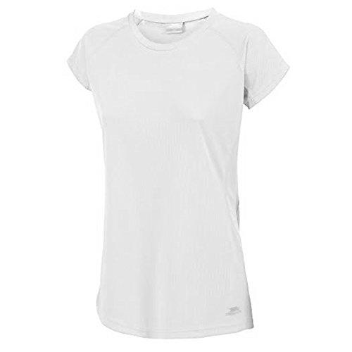 Trespass - Camiseta de manga corta modelo Sunridge de secado rápido para mujer Azalea