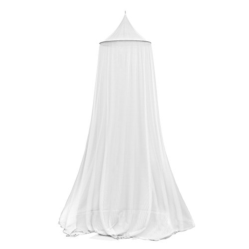 Trademark Mosquito Repelling Net for Beds, Hammocks, and Cribs - Insect Protection Hanging Canopy for Camping with Large Screen Opening by Lavish Home - 75-31215 ()