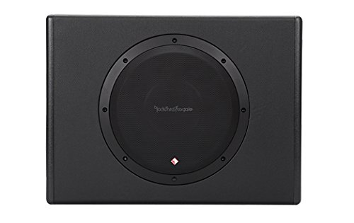 Loaded Speaker Cabinet - Rockford Fosgate P300-10 Punch Powered Loaded 10-Inch Subwoofer Enclosure
