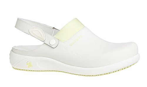 Oxypas Doria, Women's Safety Shoes, White (Lgn), 4 UK (37 EU)