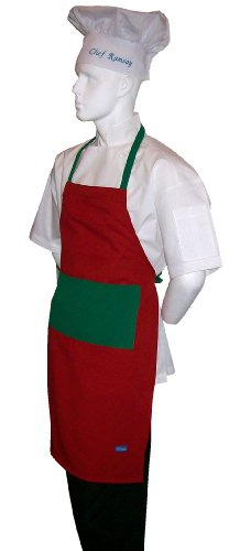 chefskin-adult-apron-christmas-colors-ultra-lightweight-cool-fresh-very-comfortable-center-pocket-an