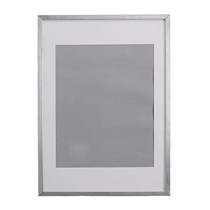 Ikea Ribba Picture Frame Aluminium 70 X 100 Cm Amazonco