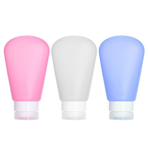 Silicone Approved Squeezable Refillable White Blue Pink product image