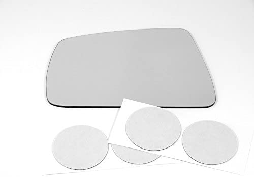 w//Adhesive    USA Lens Only Fits 97-01 Tiburon Left Driver Mirror Glass