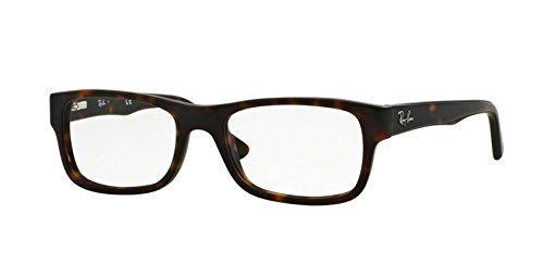 Ray-Ban Eyeglasses RX5268 5211 Tortoise 52 17 - Ban Tortoise Matte Ray