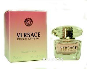 - BRIGHT CRYSTAL by Versace 0.17 oz EDT SPLASH NEW in Box for Women