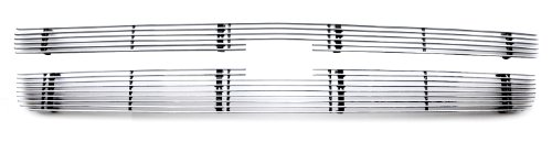 TRex Grilles 21110 Horizontal Aluminum Polished Finish Billet Grille Overlay for Chevrolet Silverado 1500