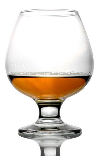 Style Setter Abigail Brandy Glasses, 13.25 Ounce Glass, Set of 4
